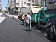 Nazırlar Caddesi'ndeki Sıcak Asfalt Serimi Tamamlandı