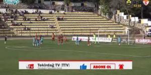 Tekirdağspor – Edirnespor Geniş Maç Özeti (27.10.2019)