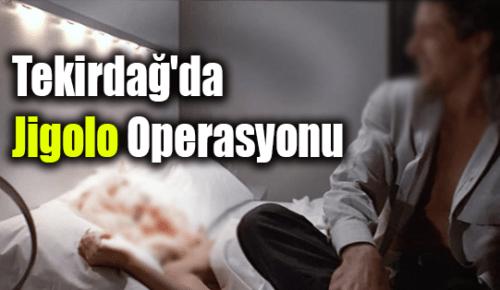 Tekirdağ'da Jigolo Operasyonu