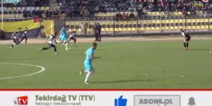 Tekirdağspor – Ortaköyspor Geniş Maç Özeti (24.11.2019)