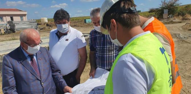 Başkan Albayrak Doğu İleri Biyolojik Atıksu Arıtma Tesisi'nde İncelemelerde Bulundu