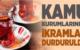 Kurumlarda Yiyecek İçeçek İkramları Yasaklandı