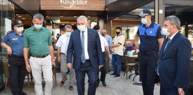 Süleymanpaşa'da Zabıtalı Salgın Denetimi