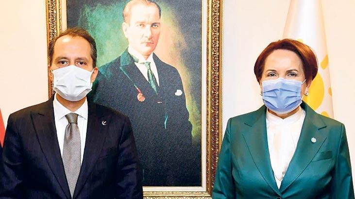 Akşener, Erbakan ile görüştü
