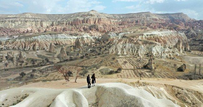Kapadokya'ya şubat ayında 50 bin 668 turist ziyareti