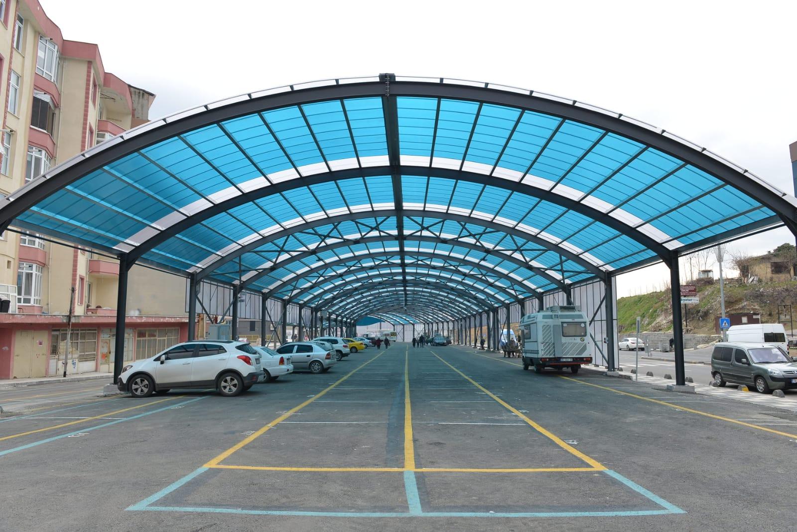 Süleymanpaşa'nın ilk kapalı pazaryeri hizmete giriyor