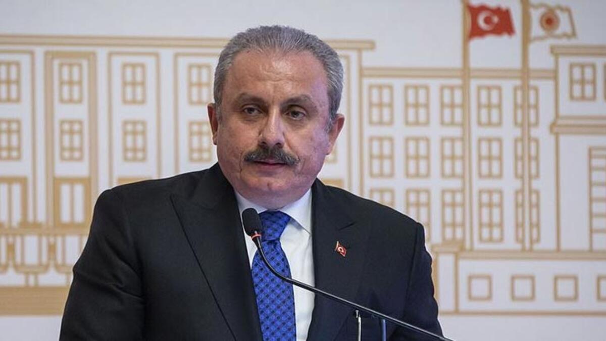 TBMM Başkanı Şentop'tan emekli amirallerin bildirisine tepki