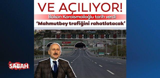 İstanbul'a müjde! Mahmutbey trafiğini rahatlatacak proje hizmete açılıyor