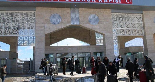 Kapıköy Gümrük Kapısı'nın açılması İran'da heyecan yarattı
