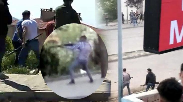 Malkara'da! Pompalı tüfekli çatışma: 2 yaralı, 7 gözaltı