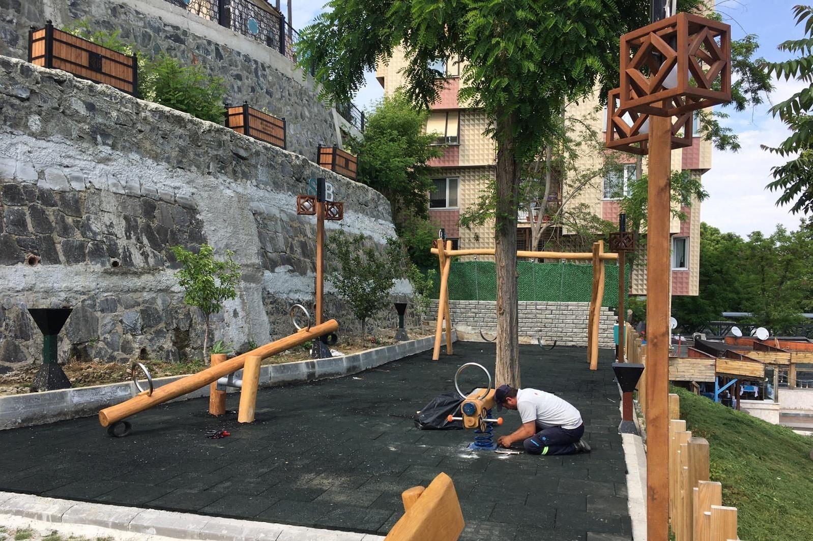 Süleymanpaşa Belediyesinden park atağı